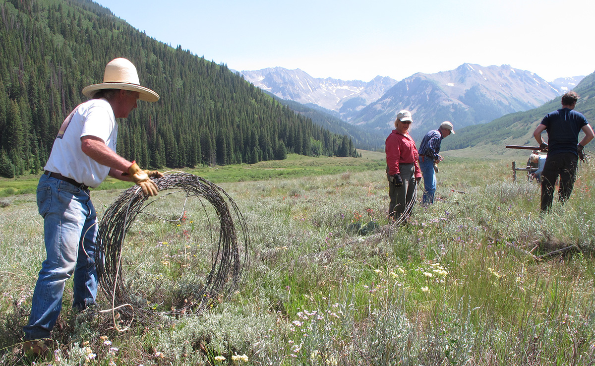 Pull Barbed Wire Restore Wildlife Habitat Wilderness Workshop How To A Sunday July 8