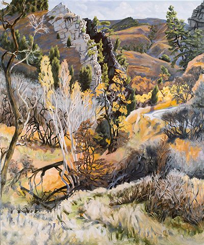 2015 Joellyn Duesberry Entry Roxborough Park Oil on Linen